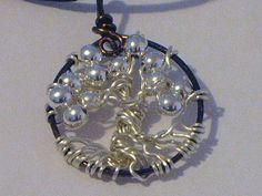 Tree Of Life Tree of Knowledge Silver Balls by HiddenBeautyDesigns