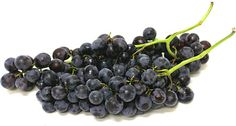 The Concord seedless grape is a cross between a Thompson seedless and a Concord. They are about average in size with an inky dark purple color. The Concord is a sweet variety, high in sugar and acidity.