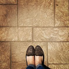 My heart is going clopclopclop with the like excitement.  #ihavethisthingwithfloors #fromwhereistand #tileaddiction #sun #summer #floors #floorsofinstagram
