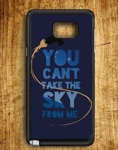 You,can't Take The Sky From Me Samsung Galaxy Note Edge Case