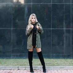 Renda Guipure + militar jeans + boots over the knee Ph: @jufoini Styling: @buesposito