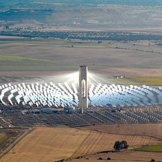 Solar panels are the main source of energy that substains the under ground colony