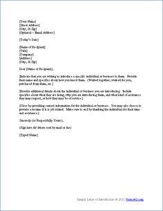 Distributor cover letter