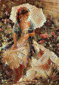 13 Eggshell Mosaic Art To Inspire The Artist In You Mosaic Tile Art, Mosaic Artwork, Mosaic Crafts, Mosaic Projects, Mosaic Glass, Mosaic Ideas, Design Vitrail, Eggshell Mosaic, Art Pierre