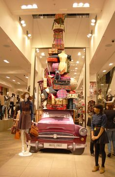 In-store display...this is HUGE, but how could it inspire you for your store?