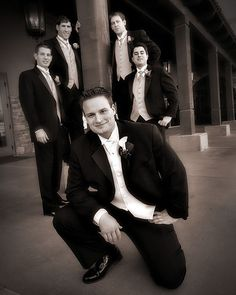 Creative Wedding Photography - Groom - Tim and Crew by ACME-Nollmeyer, via Flickr