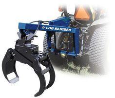 The SB-06 Iron & Oak 3 point Log Skidder is a heavy-duty grapple attachment