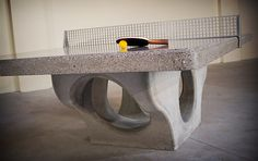Henge Concrete Table Tennis Platforms