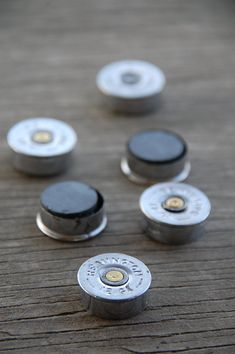 12 Gauge Shotgun Shell Magnets ~ Fridge Magnets ~ Remington ~ Fathers Day Gift ~ Dad ~ by KendollMade