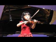4回目の発表会 [Suzuki Violin School Volume 5, Gigue, Veracini] See more of this young violinist #from_unouno2320
