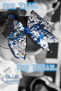 Cheerleading Bow, #bluestormsthletics, cheerleading quotes