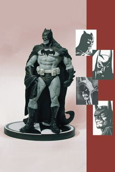 DC Direct Batman Black and White Statue by Eduardo Risso / Tony Cipriano