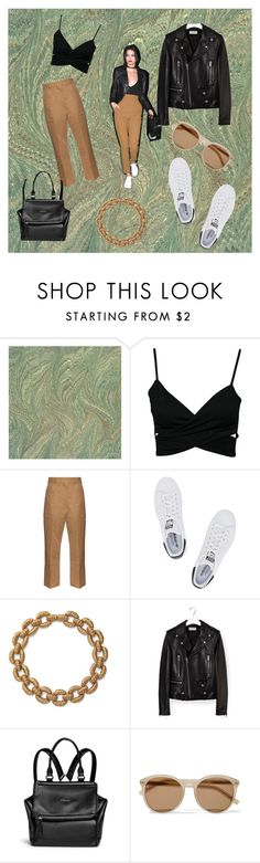 """Untitled #25"" by alishayu on Polyvore featuring Marni, adidas Originals, AERIN, Yves Saint Laurent and Givenchy"