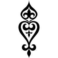 Ornament Icon – T-Shirts & Sweaters Stencil Patterns, Stencil Art, Stencils, Wooden Jewelry, Jewelry Art, Jewelry Design, Glass Jewelry, Pattern Drawing, Pattern Art