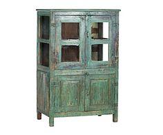 mesa de centro COLLINS estilo vintage rustico madera mango