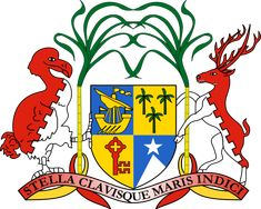 Coat of Arms of #Mauritius   #heraldry