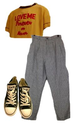 """""""Untitled #12927"""" by danisalalkamis ❤ liked on Polyvore featuring Converse"""