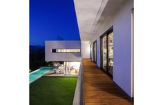 Modern house, with pool