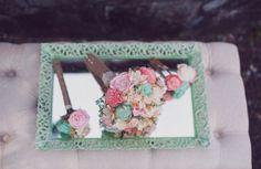 save on crafts bridal   Ways to Save Money on Wedding Flowers (image: melania ...   wedding