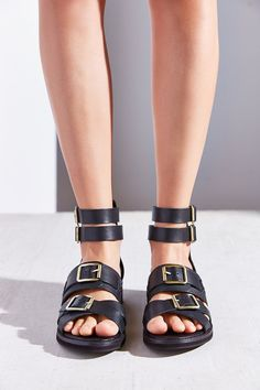 Kelsi Dagger Brooklyn Twisted Buckle Sandal - Urban Outfitters
