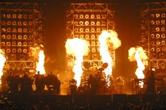 Trans Siberian Orchestra with pyrotechnics!