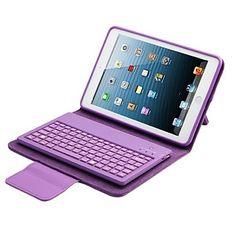 pu lederen tas met toetsenbord voor iPad lucht 2 (verschillende kleuren)