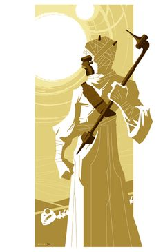 Tusken Raider by Tom Whalen