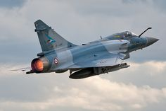 Mirage2000_52 by maciek ramos, via Flickr. French Air Force air policing in Malbork