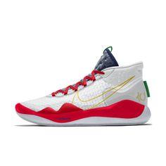 Nike Zoom By You Custom Basketball Shoe Custom Basketball, Basketball Shoes, Kevin Durant, Nike Zoom, High Collar, Nike Air Force, Sneakers, Turtleneck, Tennis