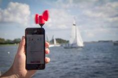 Measure Wind Speed on your SmartPhone with the Vaavud Wind Meter from Digital Meters UK