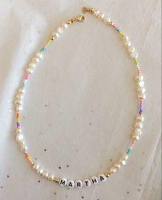 Bead Jewellery, Beaded Jewelry, Jewelery, Beaded Bracelets, Cute Jewelry, Jewelry Accessories, Jewelry Design, Diy Necklace, Necklace Designs