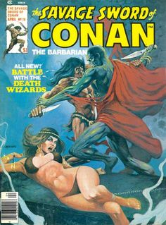 The Savage Sword of Conan #18 - The Battle Of The Towers (Issue)