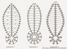 Christmas archives beautiful crochet patterns and knitting patterns – Artofit Crochet Symbols, Crochet Motifs, Crochet Diagram, Crochet Stitches Patterns, Crochet Chart, Filet Crochet, Crochet Doilies, Knitting Patterns, Crochet Leaves