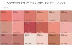 Sherwin Williams Coral Paint Colors For The Nursery