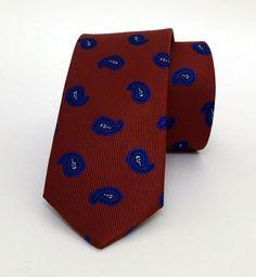 Claret Red Mens Tie 6 cm (2,36  #handmadeatamazon #nazodesign