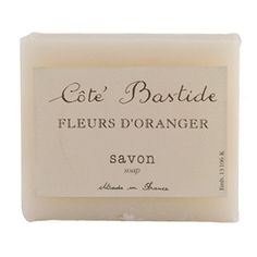 Cote Bastide Orange Blossom Soap - Fresh and summery. Made in France.