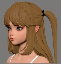 ArtStation - Darkness rises 02 (mobile game), Co wang Character Model Sheet, Female Character Design, Character Modeling, 3d Character, Character Concept, Concept Art, 3d Modeling, 3d Figures, 3d Girl