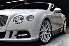 Bentley White Now this is a car. Audi, Bmw, Porsche, Classy Cars, Sexy Cars, Hot Cars, Ferrari, Lamborghini, Dream Cars