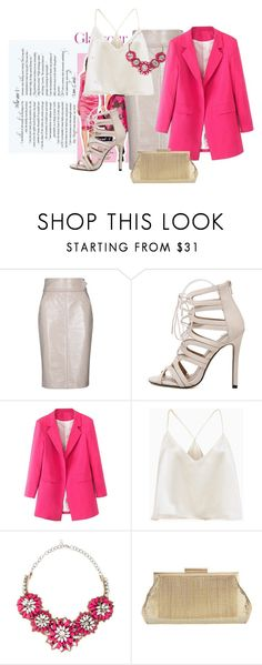"""Pink Lover Contest Entry #2"" by the-sassy-1 on Polyvore featuring Dorothee Schumacher, WithChic, Valentino and Whiting & Davis"