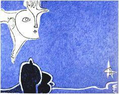 OSVALDO LICINI, Italia, 1950, olio su tela, 93,5x117 cm, Collezione privata, courtesy Claudio Poleschi Arte Contemporanea, Lucca