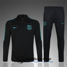 a95b1e516a Barcelona 2017 Men Tracksuit Slim Fit Black With Green Item Specifics  Brand: Nike Gender: Men's Adult Model Year: 2017 Material: Polyester Type of  Brand ...