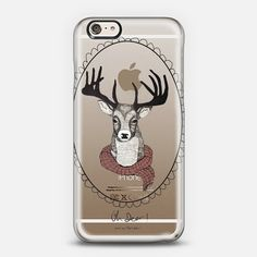 Oh deer | Mariam Tronchoni iPhone 6 shine through case from @casetify In Stock (Free Delivery Worldwide) www.casetify.com | Graphics | Painting |