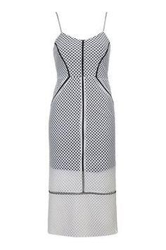 Aitrex Coluna Vestido Midi