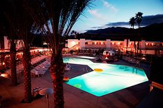 The Ace Hotel & Swim Club is a 180 room hotel, spa & resort located on the grounds of a renovated mid-century modern motel in Palm Springs, CA. The hotel is walking distance of downtown Palm Springs, and just a stones throw from Joshua Tree and the Salton Sea.
