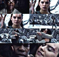 Finn and Rey #TheLastJedi