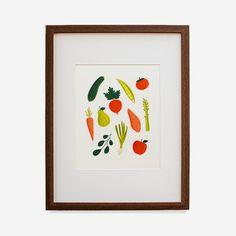 Fruits & Vegetables Print