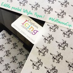 #behindthescenes #customicing #edibleprintedwafer #waferpaper #dessertdesorations #cupcaketoppers #cupcakes #cake #edibleimage #edibleprinting #melbournecup #fancypantsrestaurant #busymakingorders See our website here: http://ht.ly/ustA305zOoohttps://www.instagram.com/p/BMDYe9jly2v/behindthescenes,cupcakes,fancypantsrestaurant,customicing,edibleimage,edibleprinting,busymakingorders,edibleprintedwafer,waferpaper,cake,melbournecup,dessertdesorations,cupcaketoppers