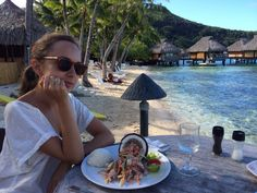 #Poisson #cru à la #tahitienne ( #insalata di #pesce #crudo in #latte di #cocco) piatto tipico polinesiano