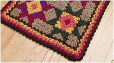 crochet mats and rugs