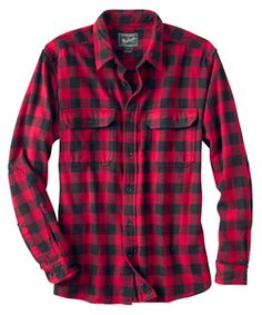 Men's Oxbow Bend Plaid Flannel Shirt | Woolrich® The Original Outdoor Clothing Company